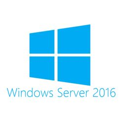 HPE Microsoft Windows Server 2016 Datacenter Edition with Reassignment Rights ROK 16 Core - EN