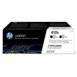 HP 410X originele high-capacity zwarte LaserJet tonercartridges, 2-pack