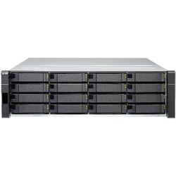 QNAP ES1640dc NAS Rack (3U) Ethernet LAN Zwart