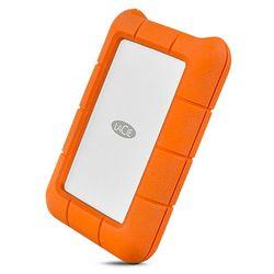 LaCie Rugged USB-C externe harde schijf 1000 GB Oranje, Zilver