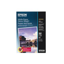 Epson Matte Paper Heavy Weight, DIN A3, 167g/m², 50 Vel