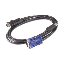 APC AP5253 1.83m Zwart toetsenbord-video-muis (kvm) kabel