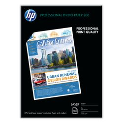 HP Professional Laser Photo Paper, mat, 100 vel, A4/210 x 297 mm papier voor inkjetprinter