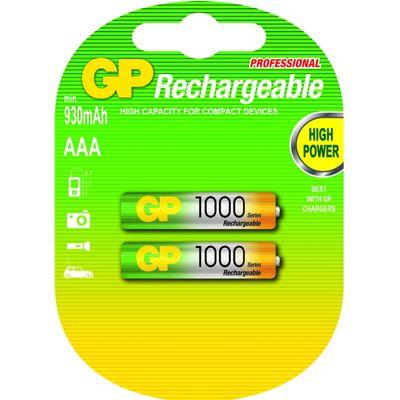 GP Batteries AAA Oplaadbare batterij Nikkel-Metaalhydride