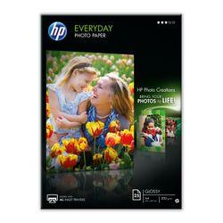 HP Q5451A pak fotopapier Zwart, Blauw, Wit Semi-gloss A4