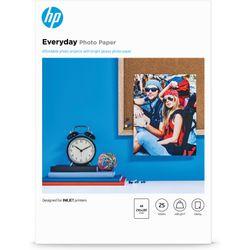 HP Q5451A pak fotopapier A4 Zwart, Blauw, Wit Semi-gloss