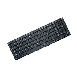 HP Keyboard (International) Zwart