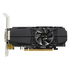 Gigabyte GeForce GTX 1050 OC Low Profile 2G grafische kaart