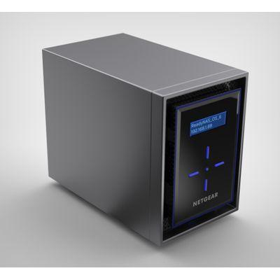 Netgear ReadyNAS 422 Ethernet LAN Zwart NAS