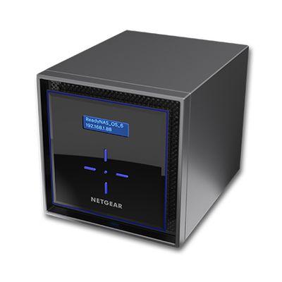 Netgear ReadyNAS 424 Ethernet LAN Zwart NAS