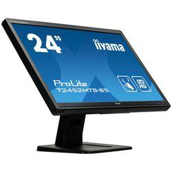 Iiyama ProLite T2452MTS-B5 23.6  1920 x 1080Pixels Multi-touch Zwart touch screen-monitor