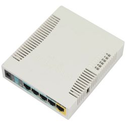 Mikrotik RB951Ui-2HnD Power over Ethernet (PoE) Wit WLAN