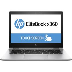 """HP EliteBook NOTEBOOK BUNDEL (Z2W63EA + YZ172AA) 1030 x360 + Premium bag 2.50GHz i5-7200U 13.3"""" 1920 x 1080Pixels Touchscreen Zilver Notebook"""