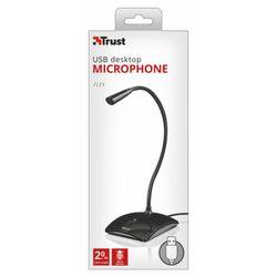 Trust 21679 PC microphone Bedraad Zwart microfoon