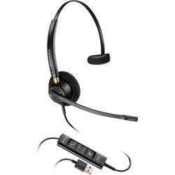 Plantronics EncorePro HW545 Headset Hoofdband Zwart
