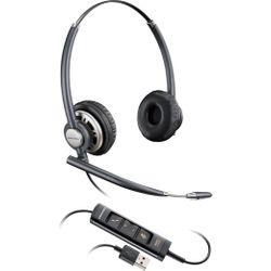 Plantronics Encorepro HW725 Headset Hoofdband Zwart, Zilver