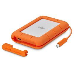 LaCie STFS2000800 externe harde schijf 2000 GB Oranje, Wit