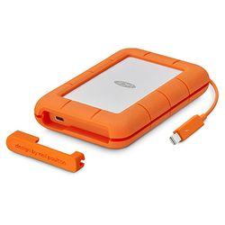 LaCie Rugged Thunderbolt USB-C externe harde schijf 4000 GB Oranje