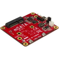 StarTech.com USB naar mSATA converter voor Raspberry Pi en development boards interfacekaart--adapte