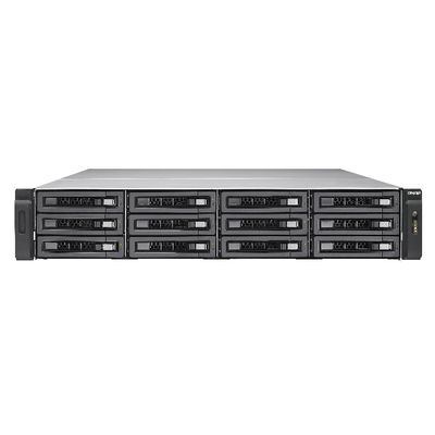 QNAP TES-1885U Ethernet LAN Rack (2U) Zwart NAS