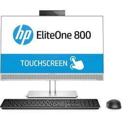 "HP 800 G3 3.4GHz i5-7500 23"" 1920 x 1080Pixels Touchscreen Zilver Alles-in-één-pc"
