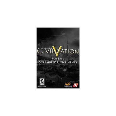 2K Sid Meier's Civilization V: Scrambled Continents Map Pack