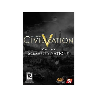 2K Sid Meier's Civilization V: Scrambled Nations Map Pack