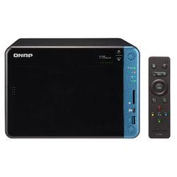 QNAP TS-653B Ethernet LAN Toren Zwart NAS