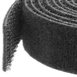 StarTech.com Klittenband kabelbinder 3 m rol zwart