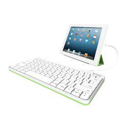 Logitech 920-008147 Lightning Wit toetsenbord voor mobiel apparaat