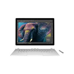 "Microsoft Surface Book 13.5"" 3000 x 2000Pixels Touchscreen Zilver Hybride (2-in-1)"
