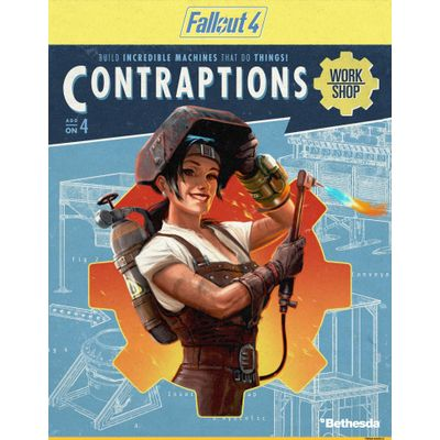 Bethesda Fallout 4 - Contraptions Workshop PC Meertalig