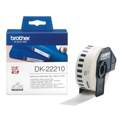 Brother DK-22210 Continuous Paper Tape