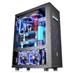 Thermaltake Core X71 TG Edition Full-Tower Zwart