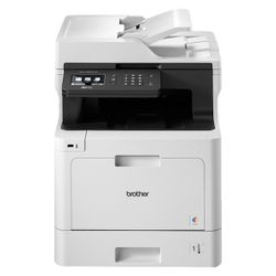 Brother MFC-L8690CDW 2400 x 600DPI Laser A4 31ppm Wi-Fi Zwart, Grijs multifunctional