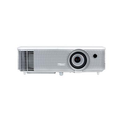 Optoma X400 beamer/projector 4000 ANSI lumens DLP XGA (1024x768) 3D Desktopprojector Grijs, Wit