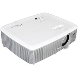 Optoma W400+ beamer/projector 4000 ANSI lumens DLP WXGA (1280x800) 3D Desktopprojector Grijs, Wit