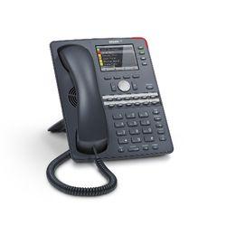 Snom 760 Handset met snoer 12regels Antraciet IP telefoon