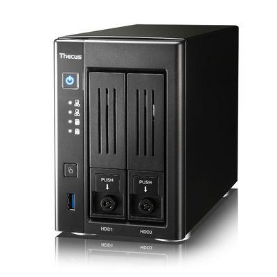Thecus N2810PRO data-opslag-server Ethernet LAN Toren Zwart