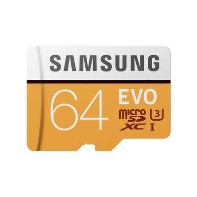 Samsung 64GB, MicroSDXC EVO 64GB MicroSDXC UHS-I Klasse 10