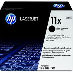 HP 11X originele high-capacity zwarte LaserJet