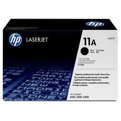 HP 11A Black Original LaserJet Toner Cartridge tonercartridge 1 stuk(s) Origineel Zwart