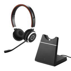 Jabra EVOLVE 65 UC Stereo Stereofonisch Hoofdband Zwart