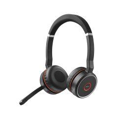 Jabra Evolve 75 UC Stereo Stereofonisch Hoofdband Zwart