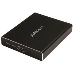 StarTech.com SMS2BU31C3R behuizing voor opslagstations SDD-behuizing Zwart