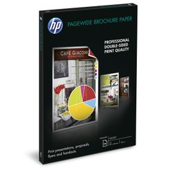 HP PageWide glanzend brochurepapier, 100 vel A3/297 x 420 mm papier voor inkjetprinter