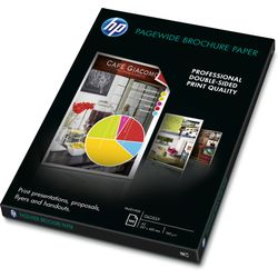 HP PageWide glanzend brochurepapier, 100 vel A3/297 x 420 mm papier voor inkjetprinter