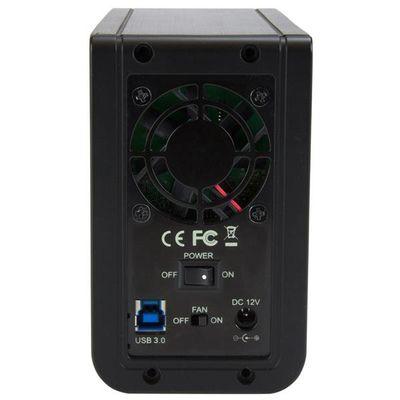 "StarTech.com USB 3.1 Dual 3.5"" SATA (6Gbps) HDD behuizing met RAID USB-C en USB-A"