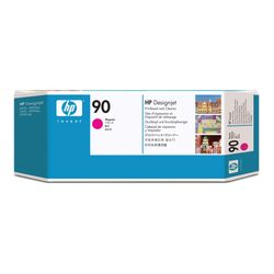HP 90 magenta DesignJet printkop en printkopreiniger