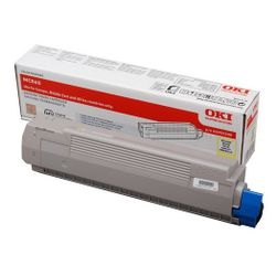 OKI 44059209 10000pagina's Geel toners & lasercartridge
